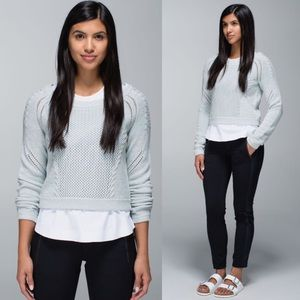 Lululemon Be Present Pullover Knit Sweater